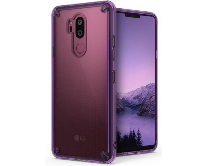Ringke Fusion Σκληρή Θήκη με TPU Bumper Orchid Purple (LG G7 ThinQ)