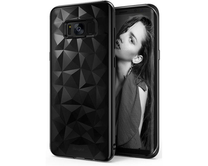 Ringke Air Prism 3D Pattern Flexible Θήκη Σιλικόνης (151529) Ink Black (Samsung Galaxy S8 Plus)