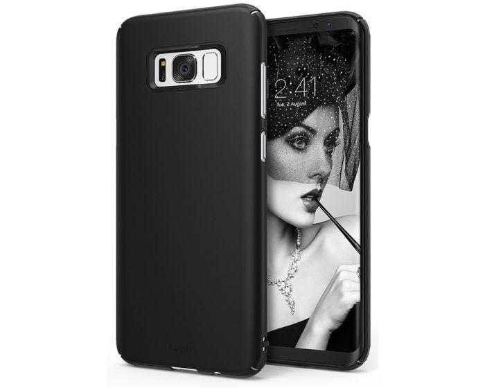 Ringke Slim Fit Σκληρή Θήκη (151526) Black (Samsung Galaxy S8 Plus)