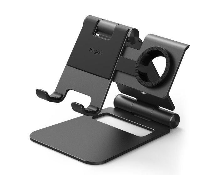 Ringke Super Folding Stand (ACST0008) Βάση Στήριξης για Smartphone / Tablet / Apple Watch - Black