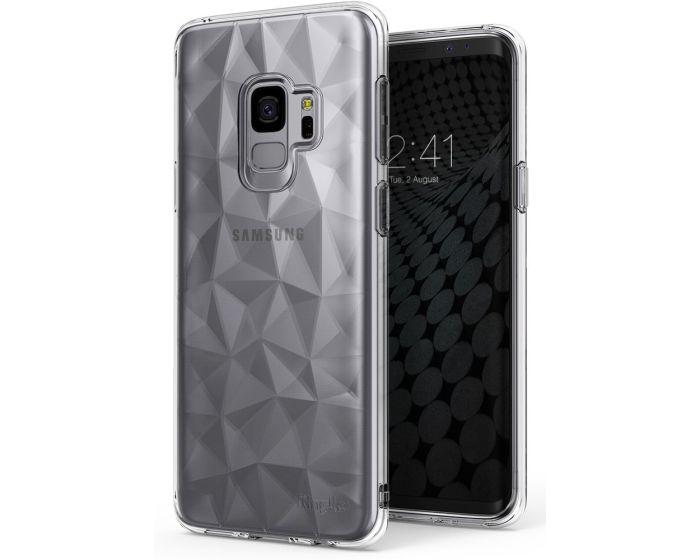 Ringke Air Prism 3D Pattern Flexible Θήκη Σιλικόνης Clear (Samsung Galaxy S9)