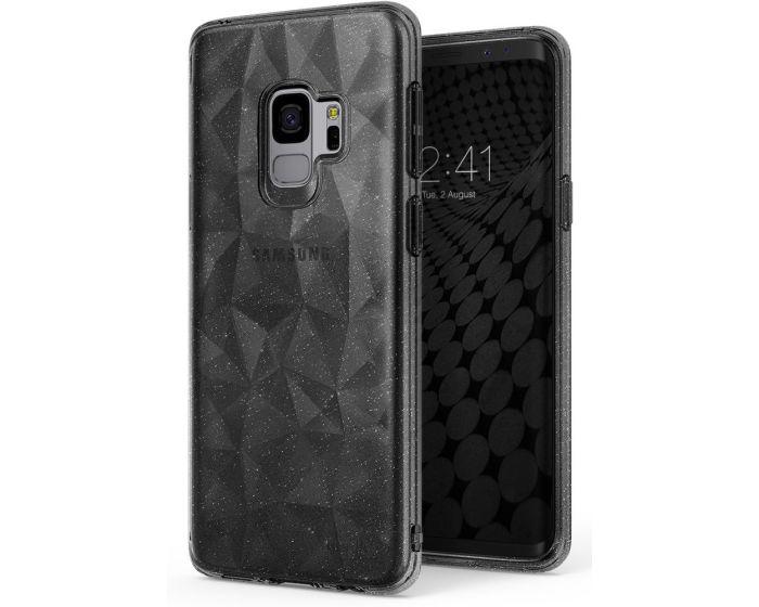 Ringke Air Prism 3D Pattern Flexible Θήκη Σιλικόνης Glitter Gray (Samsung Galaxy S9)
