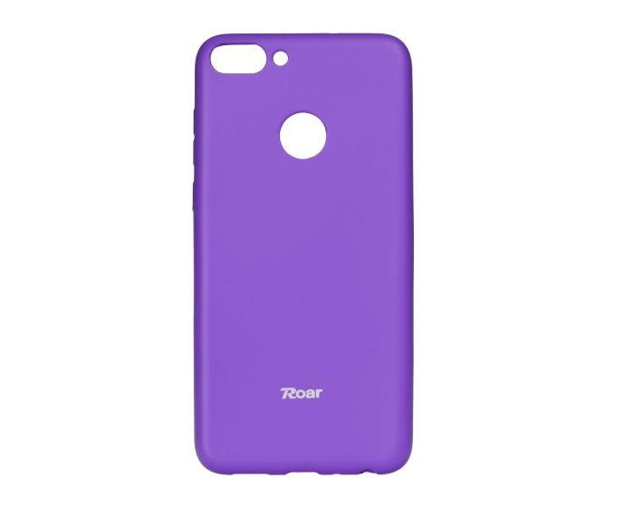 Roar Colorful TPU Jelly Case Θήκη Σιλικόνης Purple (Huawei P Smart)