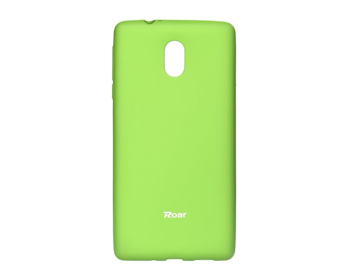 Roar Colorful TPU Jelly Case Θήκη Σιλικόνης Lime (Nokia 3)