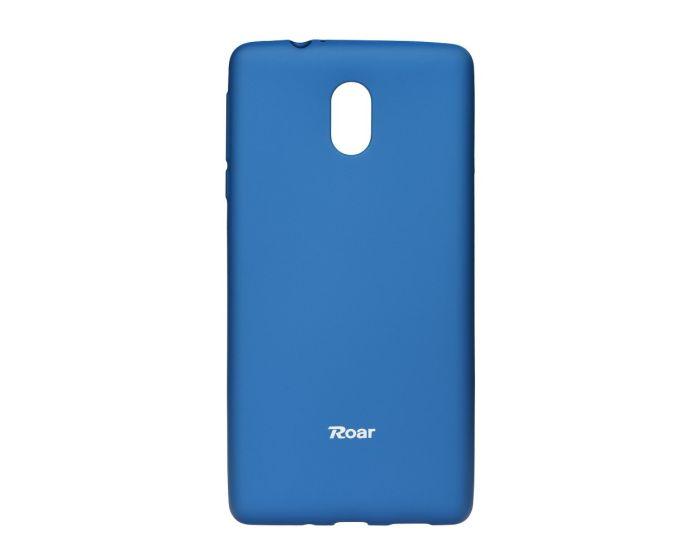 Roar Colorful TPU Jelly Case Θήκη Σιλικόνης Navy Blue (Nokia 3)