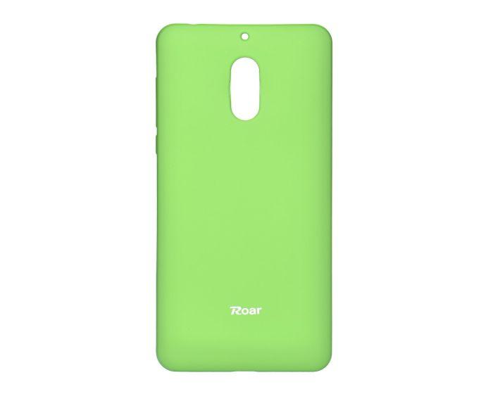 Roar Colorful TPU Jelly Case Θήκη Σιλικόνης Lime (Nokia 6)