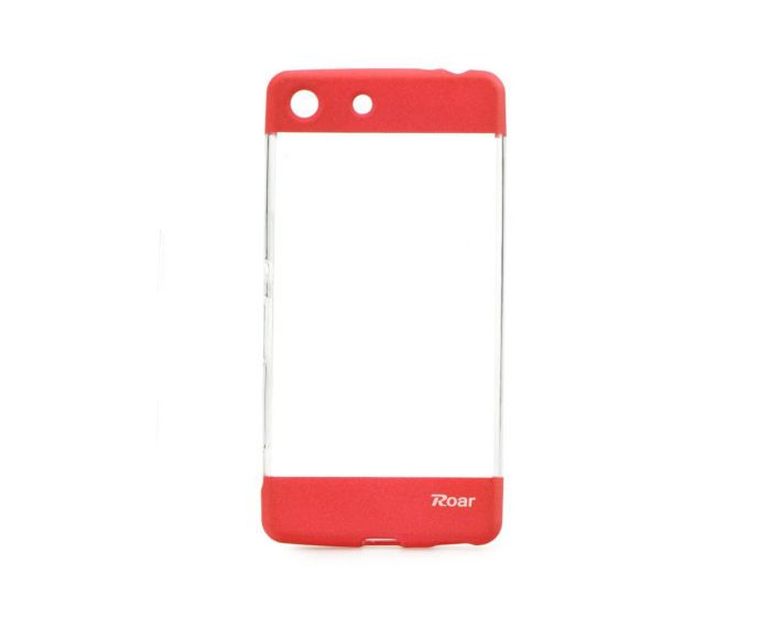 Roar Fit Up Silicone Case - Θήκη Σιλικόνης Red (Sony Xperia M5)