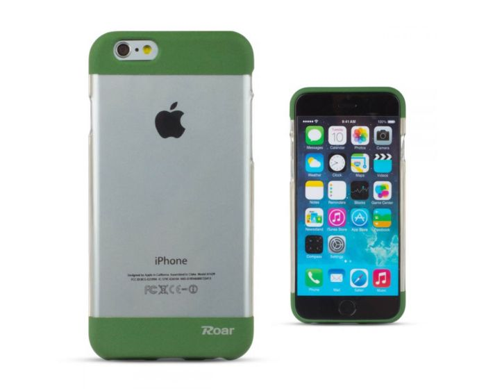 Roar Fit Up Silicone Case - Θήκη Σιλικόνης Green (iPhone 7 Plus)