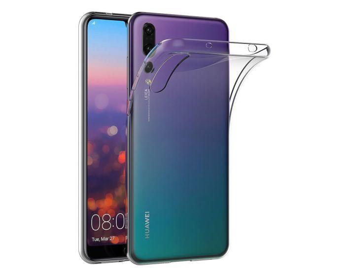 Roar Ultra Thin 0.3mm Silicone Case Διάφανη (Huawei P20 Pro)