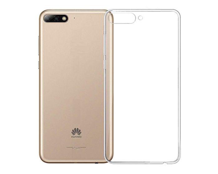 Roar Ultra Thin 0.3mm Silicone Case Διάφανη (Huawei Y5 2018 / Y5 Prime 2018)