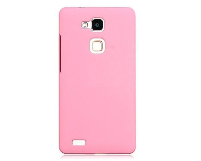 Rubber Plastic Θήκη Πλαστική Baby Pink (Huawei Ascend Mate 7)
