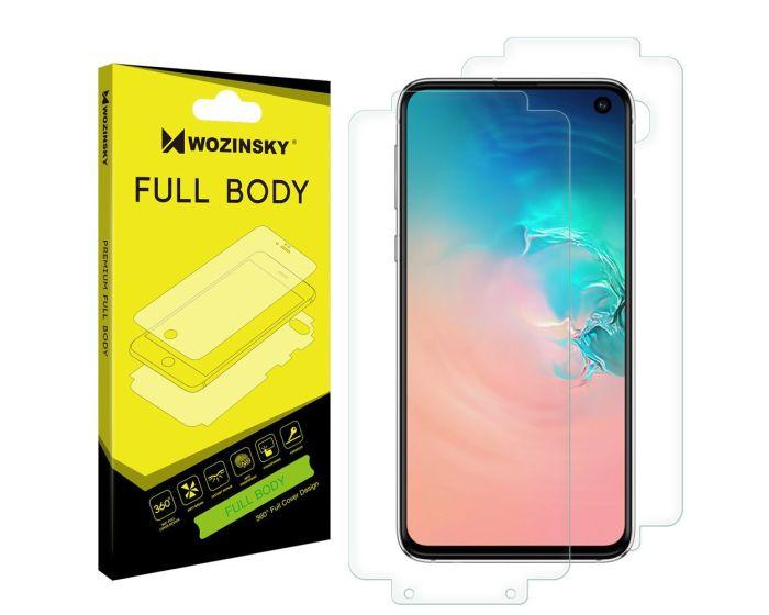 WOZINSKY Premium Full Body Screen Protector Self - Repair Front&Back (Samsung Galaxy S10e)