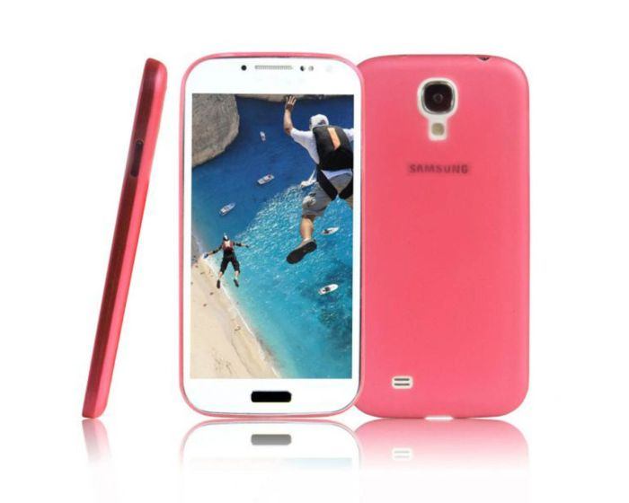 Θήκη 0.5mm Ultra Thin Matte Case OEM - Κόκκινο (Samsung Galaxy S4 mini)