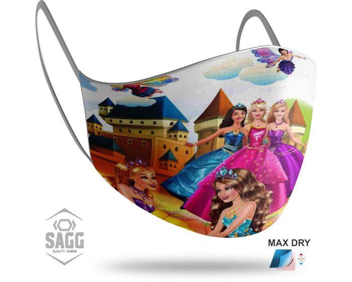 SAGG Face Mask for Kids Παιδική Προστατευτική Μάσκα Προσώπου - Barbie