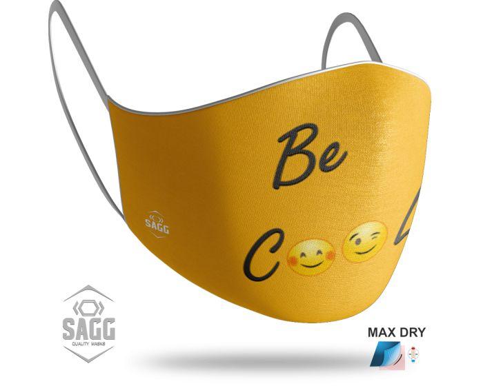 SAGG Face Mask for Kids Παιδική Προστατευτική Μάσκα Προσώπου - Imoji 4