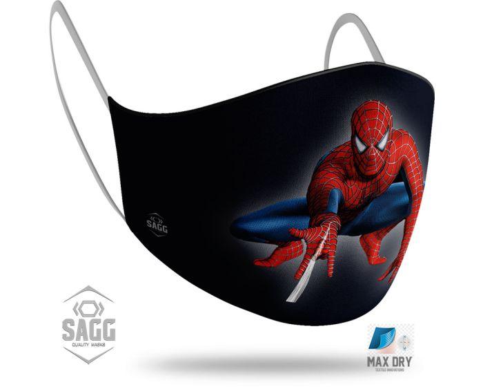 SAGG Face Mask for Kids Παιδική Προστατευτική Μάσκα Προσώπου - Spiderman