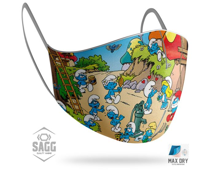 SAGG Face Mask for Kids Παιδική Προστατευτική Μάσκα Προσώπου - Stroomf