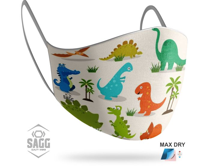 SAGG Face Mask for Kids Παιδική Προστατευτική Μάσκα Προσώπου - Zoo