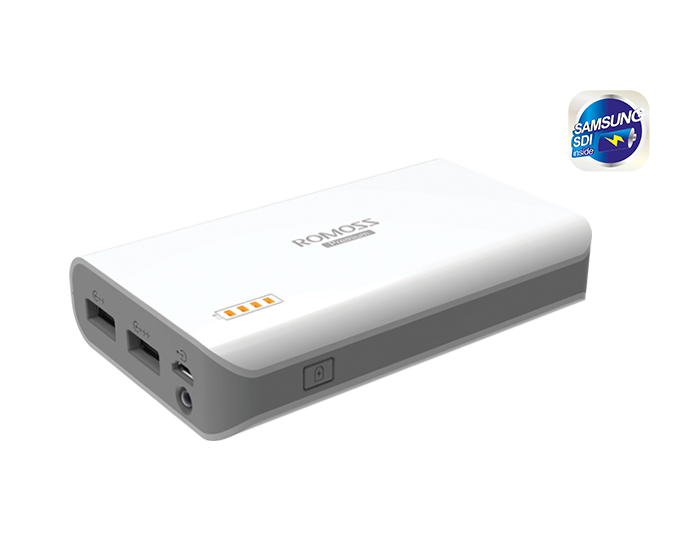 ROMOSS Sailing 3 Εξωτερική Μπαταρία Power Bank 7800mAh (Τεχνολογίας SAMSUNG)