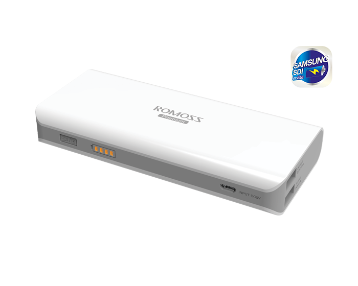 ROMOSS Sailing 4 Εξωτερική Μπαταρία Power Bank 10400mAh (PH40-301) (Τεχνολογίας SAMSUNG)
