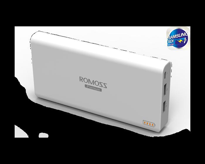ROMOSS Sailing 6 Εξωτερική Μπαταρία Power Bank 20800mAh (Τεχνολογίας SAMSUNG)