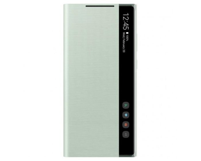 Samsung Clear View Standing Cover Case (EF-ZN980CMEGEU) Green (Samsung Galaxy Note 20)