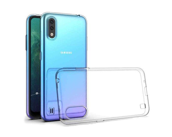 Ultra Slim 0.5mm Silicone Case Θήκη Σιλικόνης Διάφανο (Samsung Galaxy A01)