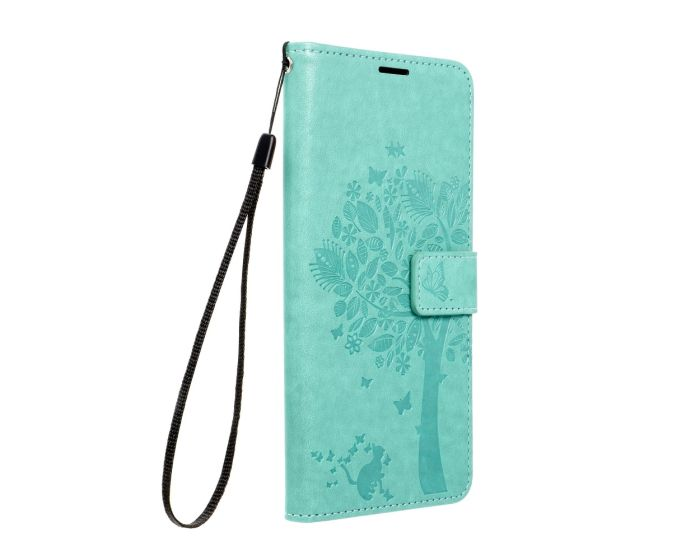 Forcell MEZZO Smart Book Case με Δυνατότητα Stand Θήκη Πορτοφόλι Green Tree (Xiaomi Redmi 9C)