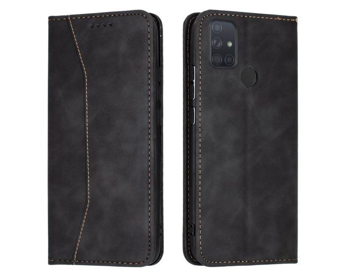 Bodycell PU Leather Book Case Θήκη Πορτοφόλι με Stand - Black (Samsung Galaxy A21s)