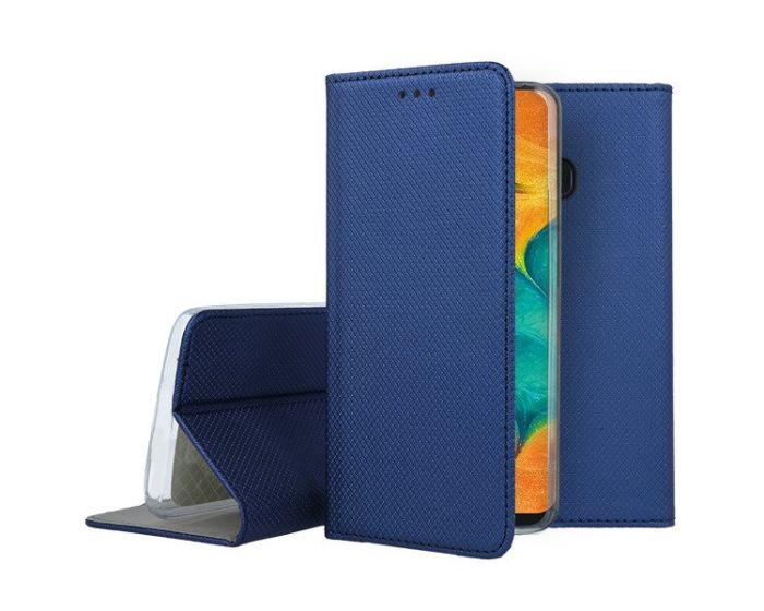 Forcell Smart Book Case με Δυνατότητα Stand Θήκη Πορτοφόλι Navy Blue (Samsung Galaxy A20 / A30)
