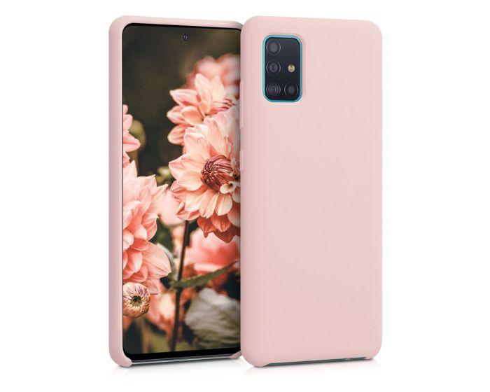 KWmobile Flexible Rubber Case Θήκη Σιλικόνης (51197.52) Antique Pink Matte (Samsung Galaxy A51)