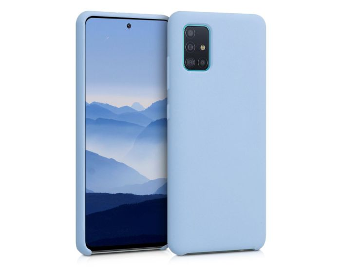 KWmobile Flexible Rubber Case Θήκη Σιλικόνης (51197.58) Light Blue Matte (Samsung Galaxy A51)
