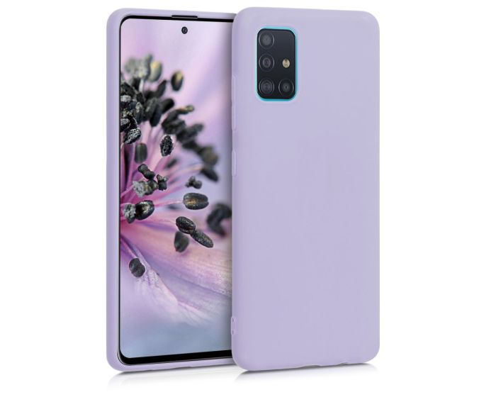 KWmobile TPU Silicone Case (51196.108) Lavender (Samsung Galaxy A51)