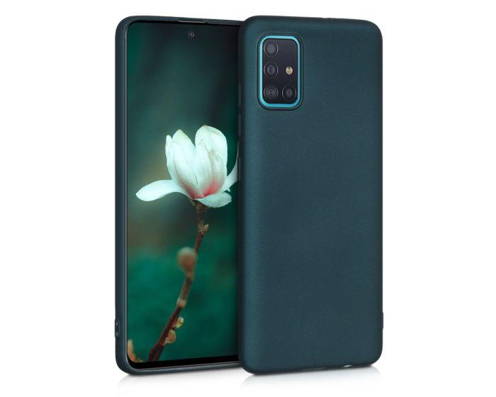 KWmobile TPU Silicone Case (51201.14) Metallic Teal (Samsung Galaxy A51)