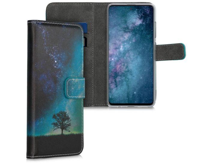 KWmobile Θήκη Πορτοφόλι Wallet Case (51193.02) Cosmic Nature (Samsung Galaxy A51)