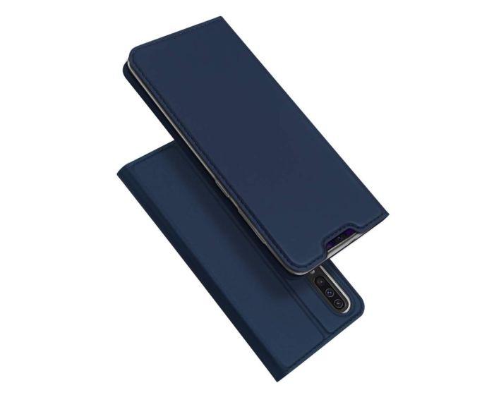 DUX DUCIS SkinPro Wallet Case Θήκη Πορτοφόλι με Stand - Navy Blue (Samsung Galaxy A70)