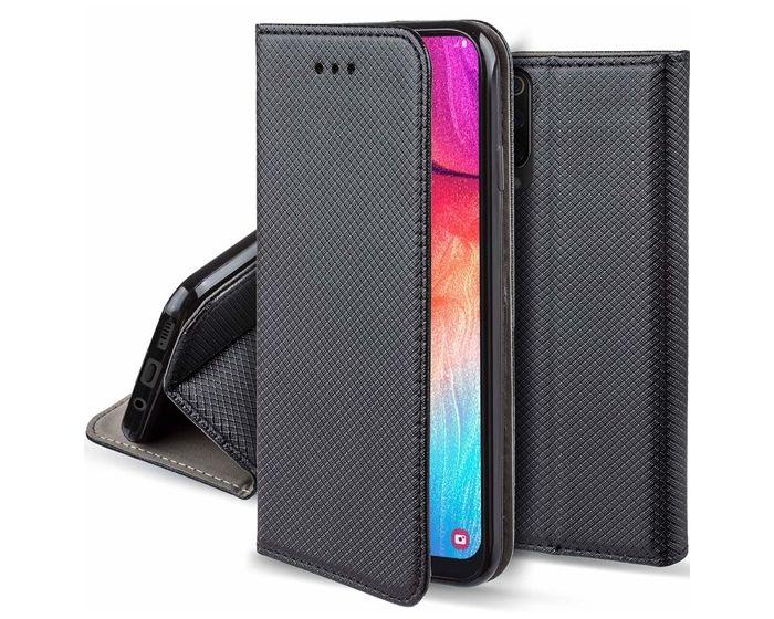 Forcell Smart Book Case με Δυνατότητα Stand Θήκη Πορτοφόλι Black (Samsung Galaxy A70)