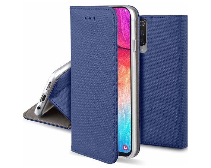 Forcell Smart Book Case με Δυνατότητα Stand Θήκη Πορτοφόλι Navy Blue (Samsung Galaxy A70)