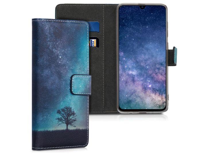 KWmobile Θήκη Πορτοφόλι Wallet Case (48435.02) Cosmic Nature (Samsung Galaxy A70)