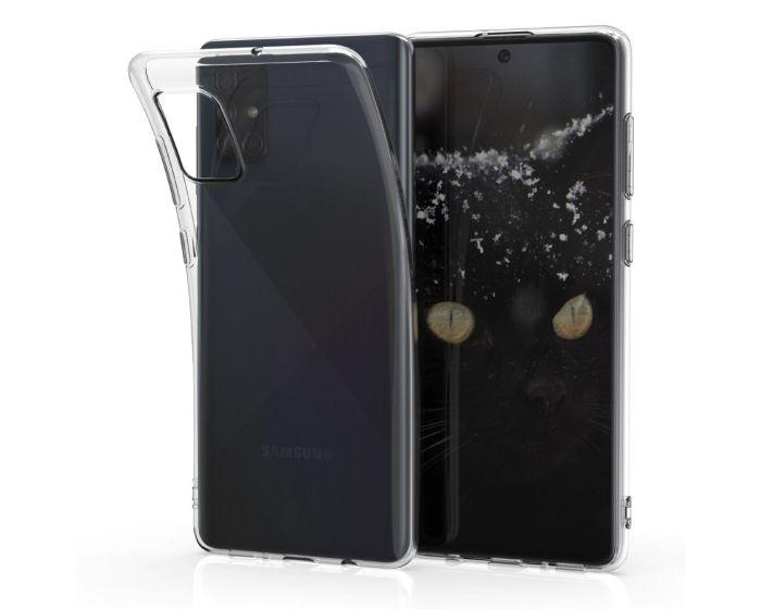 KWmobile TPU Clear Silicone Case Θήκη Σιλικόνης (51203.03) Διάφανη (Samsung Galaxy A71)