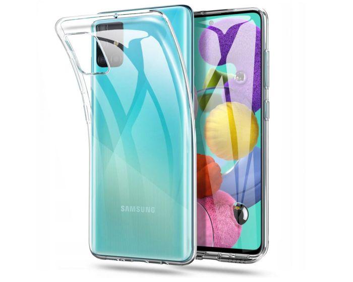 TECH-PROTECT Flexair Crystal Case Θήκη Σιλικόνης Διάφανο (Samsung Galaxy A71)
