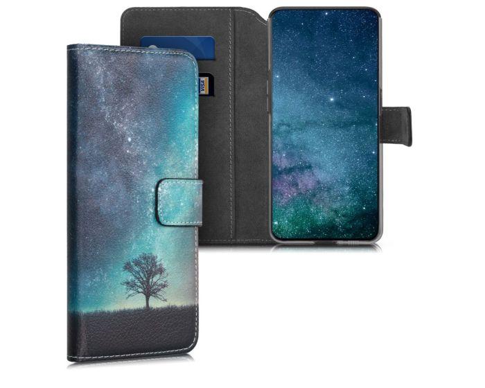 KWmobile Θήκη Πορτοφόλι Wallet Case (48446.01) Cosmic Nature (Samsung Galaxy A80)