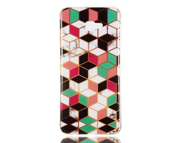 Slim Fit Art Case Marble Pattern Θήκη Σιλικόνης (Samsung Galaxy J4 Plus 2018)
