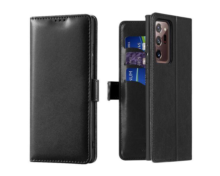 DUX DUCIS Kado Book Case Θήκη Πορτοφόλι με Stand - Black (Samsung Galaxy Note 20 Ultra)