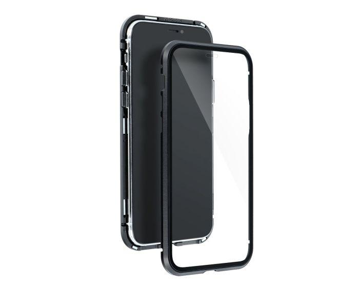 Magneto Full Glass Case - Μαγνητική Θήκη Clear / Black (Samsung Galaxy Note 9)