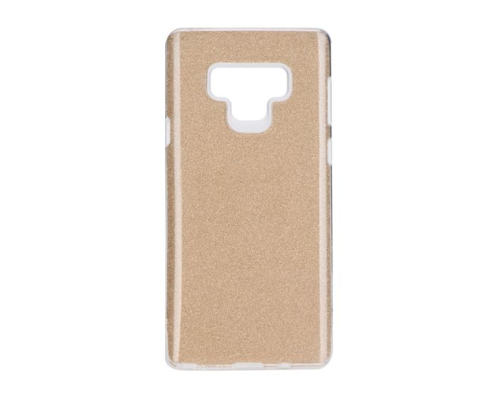 Forcell Glitter Shine Cover Hard Case Gold (Samsung Galaxy Note 9)
