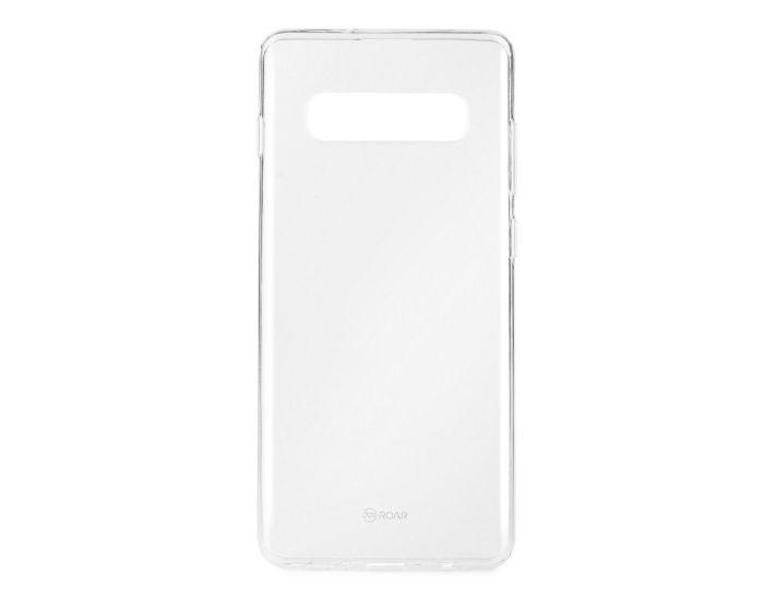 Roar Ultra Thin 0.3mm Silicone Case Διάφανη (Samsung Galaxy S10)