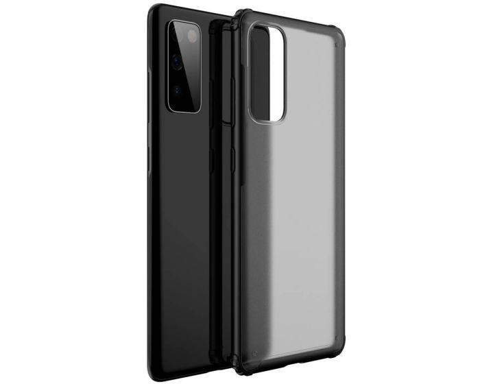 Hybrid Armor Case Σκληρή Θήκη με TPU Bumper Black (Samsung Galaxy S20 FE)