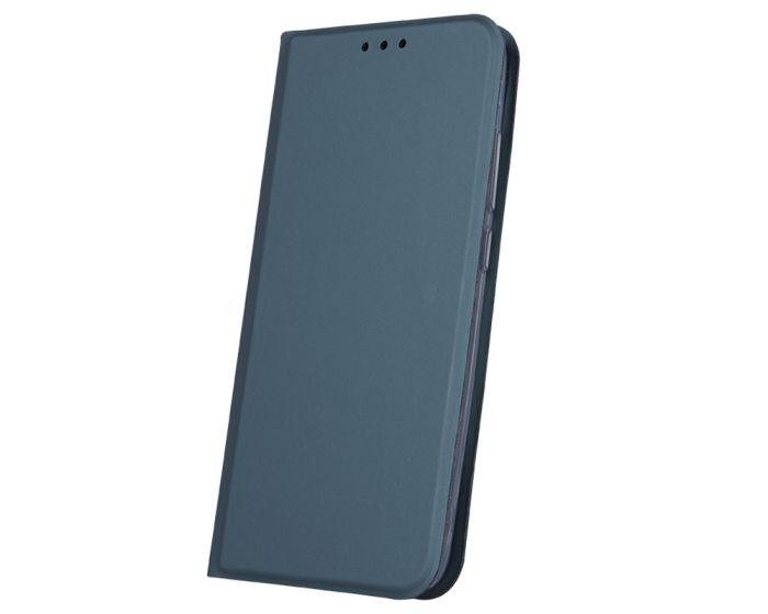 Smart Skin Wallet Case Θήκη Πορτοφόλι με Stand - Dark Green (Samsung Galaxy S20 FE)