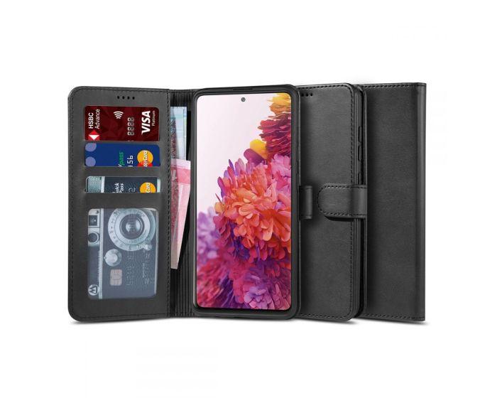 TECH-PROTECT Wallet 2 Case Θήκη Πορτοφόλι με Stand - Black (Samsung Galaxy S20 FE)